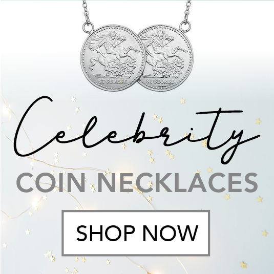 Celebrity Coin Necklaces